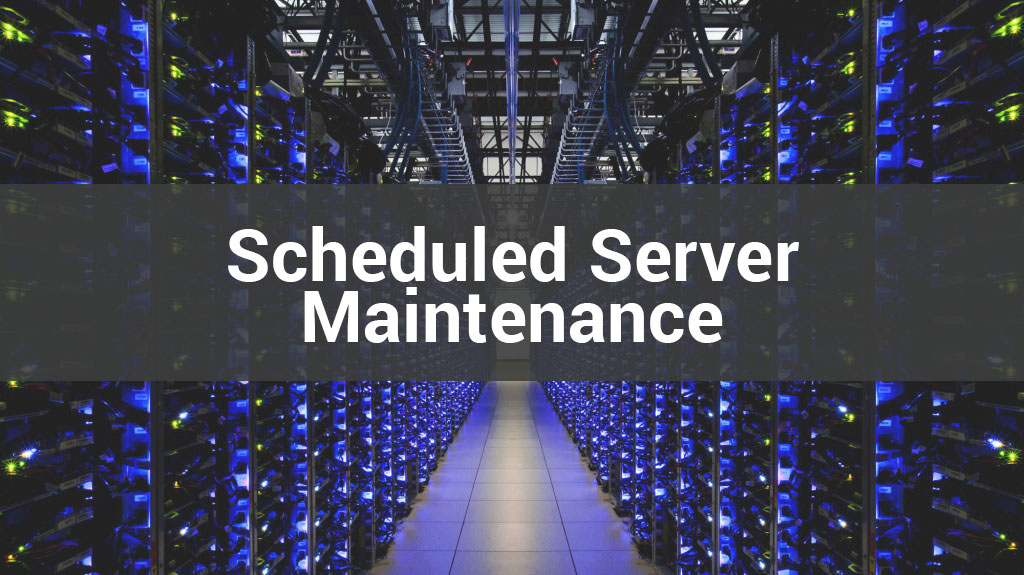 Atlas Martial Arts Software Scheduled Server Maintenance