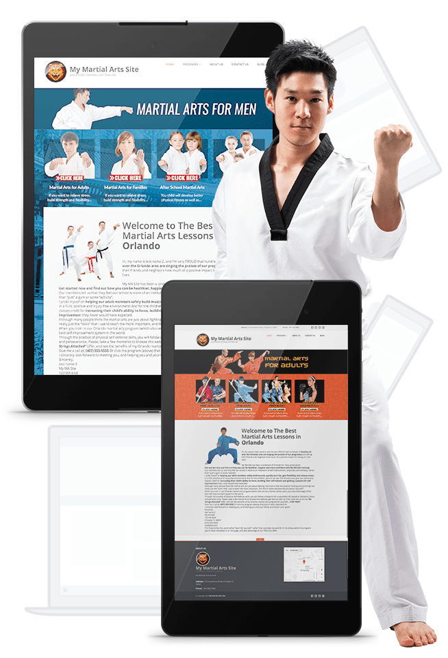 Martial Arts Website Marketing
